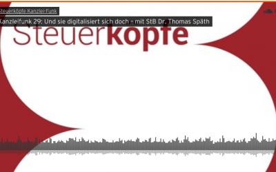 Kanzleifunk 29: Und sie digitalisiert sich doch – mit StB Dr. Thomas Späth